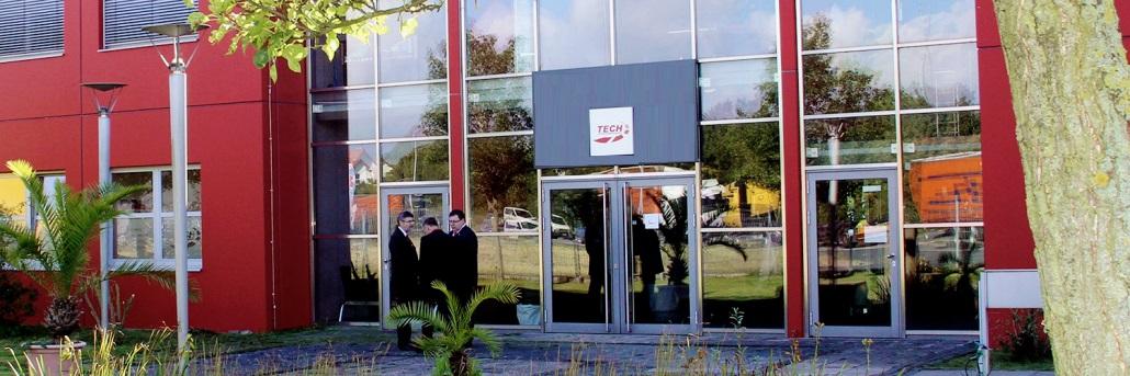 Firmengebäude der Tech Unternehmensgruppe