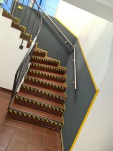 Industrieanstrich - Treppeeingang